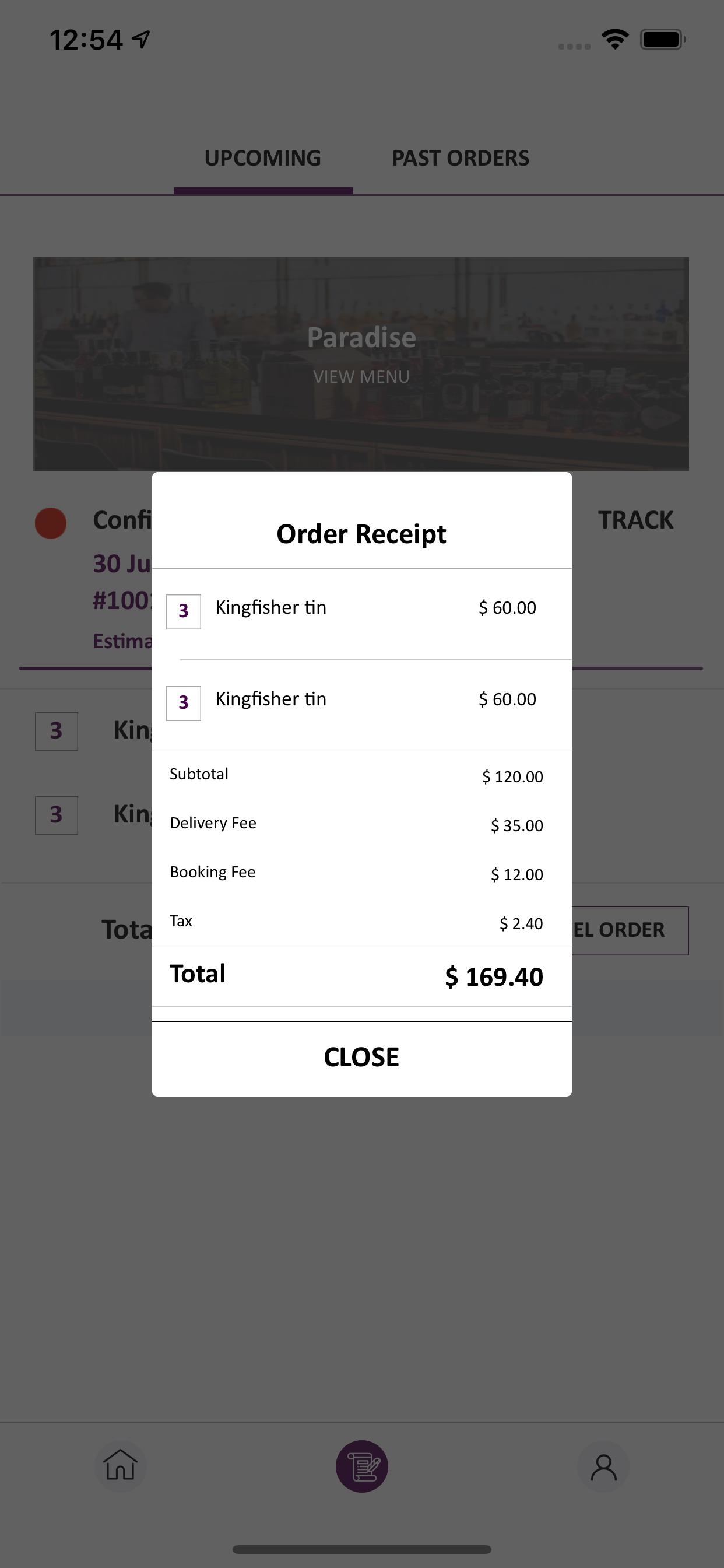 alcohol delivery script